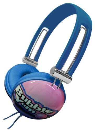 Dgl Dgl-820-Hby Hershey'S Bubble Yum Gum Candy Comfort Plus Novelty Noise-Reducing Stereo Over Ear Aviator Headphones - Retail Packaging