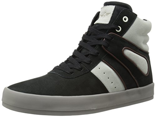 Creative Recreation Men's Moretti Fashion Sneaker, Black Marshmallow, 8 M US