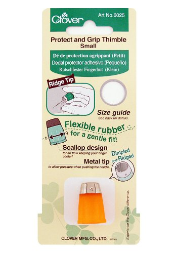 Discover Bargain Clover 6025 Small Protect and Grip Thimble