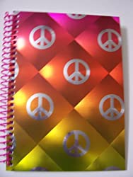 University of Style Illuminate Spiral Notebook World of Peace (8 x 10.5; 70 Sheets, 140 Pages)