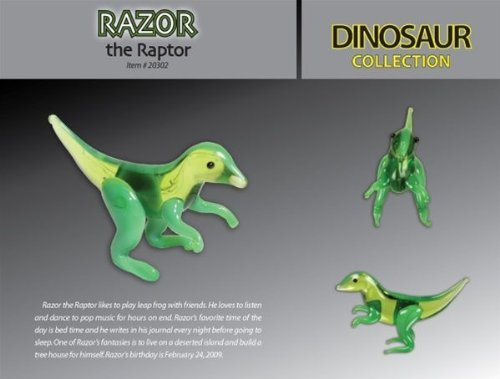Razor Raptor - Collectible Figure by Looking Glass Figurines (20302) - 1