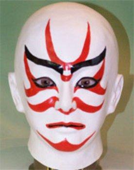 歌舞伎面(筋隈)