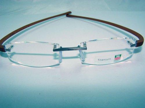 Silhouette Crystals Rimless Eyeglasses Frames Silhouette Eyewear