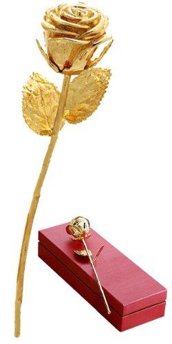 Die goldene Rose - das außergewöhnliche Liebesgeschenk