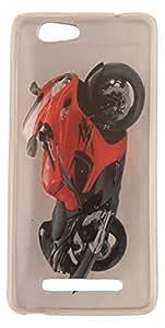Generic Plastic Back Case for Gionee F103 (Multicolor)