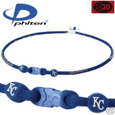 Phiten MLB Necklace - Kansas City Royals - 18