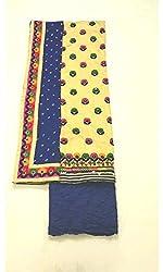 BEAUVILLE VAIIBAVAM Women's Unstiched Salwar Material (BVPCUC_35_Multi_Free Size)