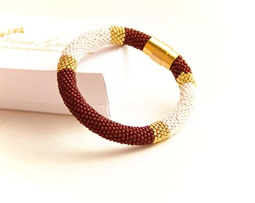 001-handmade-bangle-milk-chocolate-modern-bangle-textured-bangle-colorful-minimalist-style