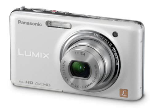 Panasonic Lumix Dmc-Fx78 12.1 Mp Digital Camera With 5X F/2.5 Ultra Wide Angle Optical Image Stabilized Zoom Lens And 3.5-Inch Touch Lcd (White)
