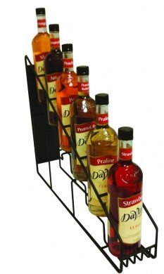 Bloomfield 3106-SR6B Syrup Rack, 6-Holder