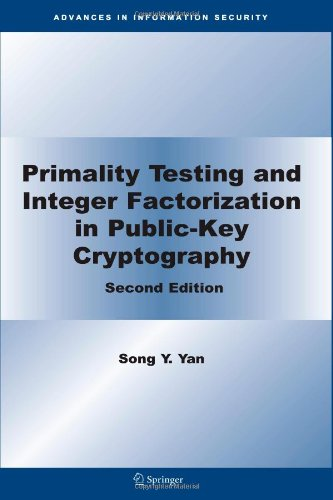 Primality Testing and Integer Factorization in Public-Key Cryptography (Advances in Information Security)