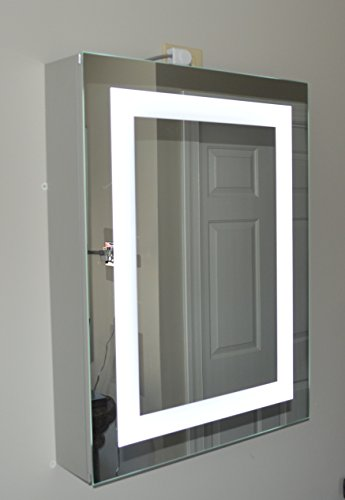Lighted Medicine Cabinet 20 W X 28 T Lighted Door