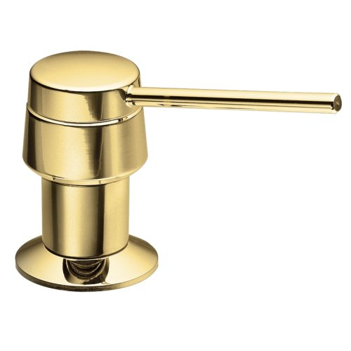 Moen 3910P Soap or Lotion Dispenser, Polished Brass