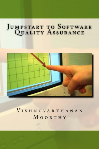 Book: Jumpstart to Software Quality Assurance by Vishnuvarthanan Moorthy