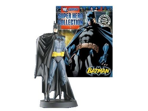 #01 - Batman Lead Figure & Magazine#01 - Batman Lead Figure & Magazine