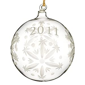Waterford by Marquis 2011 Annual Ball Ornament