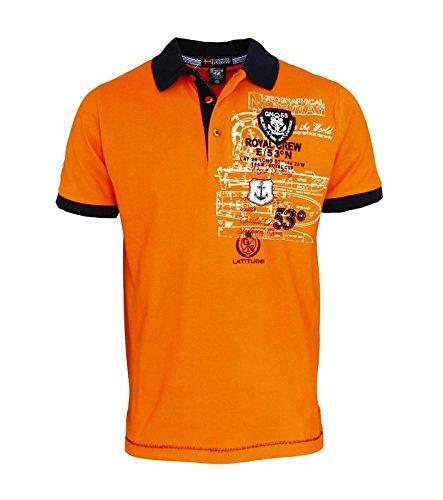 Geographical Norway -  Polo  - Uomo arancione L