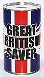 Gran Británico Ahorrador Dinero En Efectivo Lata Ahorros Estaño - Grande