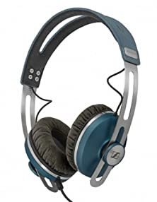 buy Sennheiser Momentum Supra Aural On-Ear Headphones (Blue) Bundle With Custom Design Zorro Sounds Cleaning Cloth