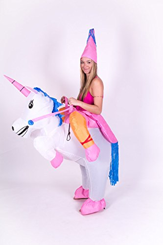 Inflatable Unicorn Adult Fancy Dress Costume