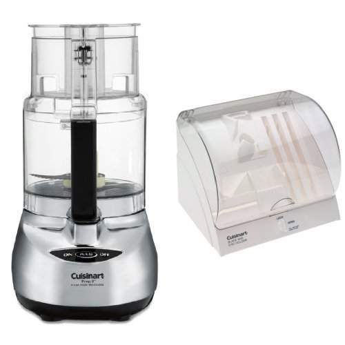 Hot Deal Cuisinart DLC-2009CHB Prep Plus Food Processor and Blade/Disc Holder Bundle