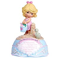 Precious Moments - Footprints In The Sand Girl Musical Figurine