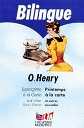 Springtime à la carte, and other short stories