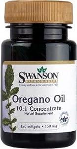 Swanson Oregano Oil (120 Softgels)