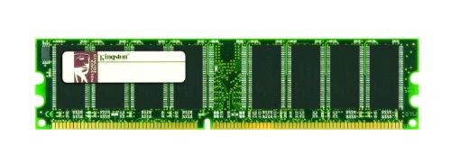 Kingston ValueRAM - Mémoire - 1 Go - DIMM 184 broches - DDR - 333 MHz / PC2700 - CL2.5 - 2.5 V - mémoire sans tampon -