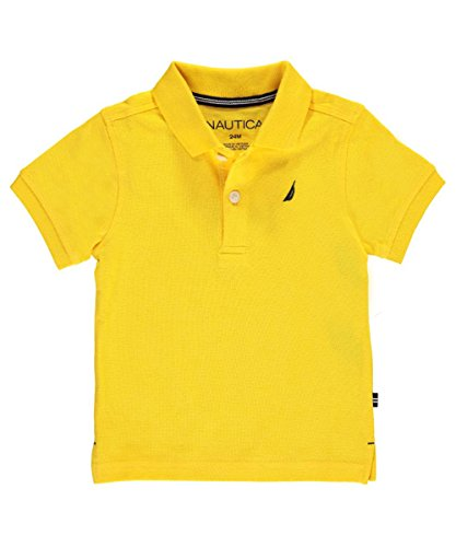 nautica-baby-boys-solid-state-pique-polo-gold-24-months