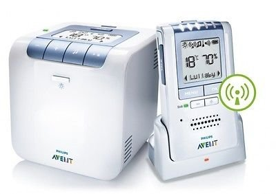 Philips Avent Dect Scd535 Baby Monitor (Digital Temperature Sound Nursery) New