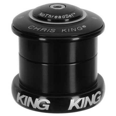 Chris King Inset 5 Headset Bold Black, 1.5In