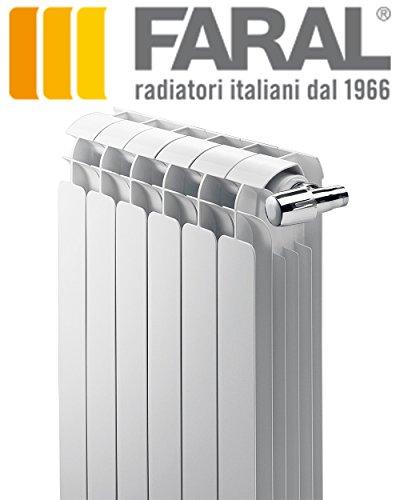 Faral-Alba-Heizkrper-Aluminium-Abstand-600-komplette-Batterie-10-teilig