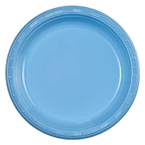 Party Dimensions 81193 10 Count Plastic Plate 9 Inch