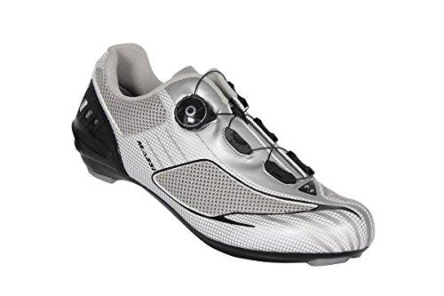 Massi Aria Platinum - Zapatillas para ciclismo de carretera unisex, color plateado / gris, talla 45 73.82€