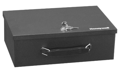 Honeywell 6104 Fire Resistant Steel Security Box (Honeywell Safe Key compare prices)