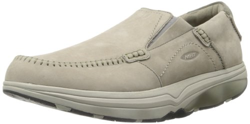 MBT Men's Baraka Slip-On,Brindle Nubuck,43 EU/9-9.5 M US