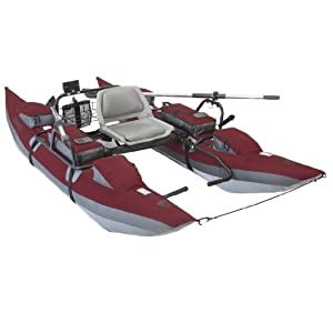 Classic Accessories Oswego Pontoon Boat Burgundy 10-foot