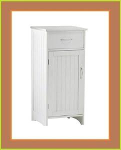 Shaker Free Standing Cupboard Bathroom Storage Unit Bedside Cabinet