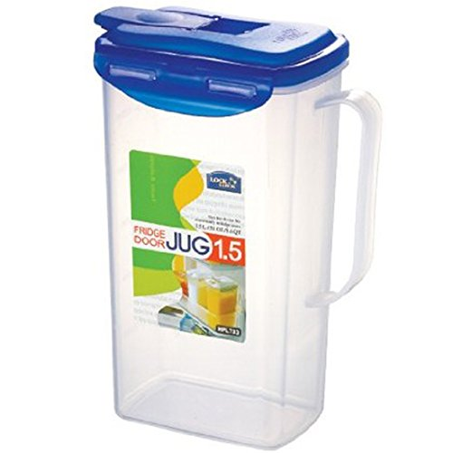 Lock&Lock 51-Fluid Ounce Water Jug with Flip Top Lid, Polypropylene, 6.2-Cup (Locklock Bottle compare prices)