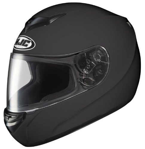 Hjc Cs-R2 Full-Face Motorcycle Helmet (Matte Black, Small)