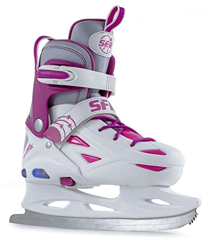sfr-ice-skates-eclipse-light-up-verstellbare-schlittschuhe-weiss-kinder-white-pink-355-395