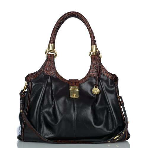 Elisa Hobo Bag<br> Black Tuscan