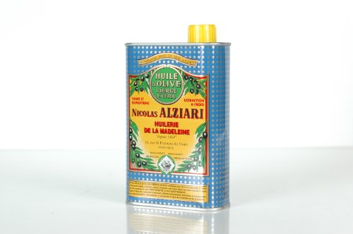 Nicolas Alziari Extra Virgin Olive Oil 16.9 Fl.oz (500ml)