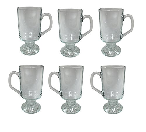 Set of 6 Irish Coffee Glasses (Irish Coffee Set compare prices)