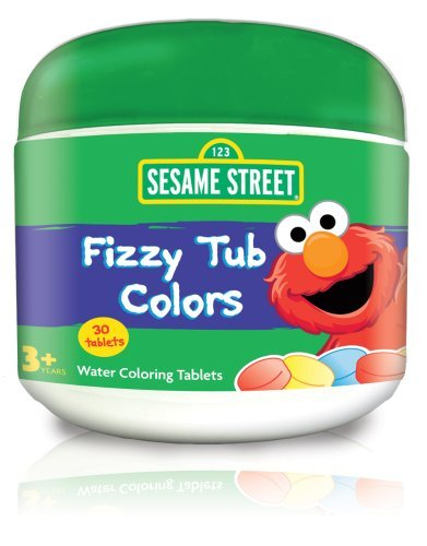 Sesame Street Fizzy Tub Colors 24 Count Health Care Stuffs