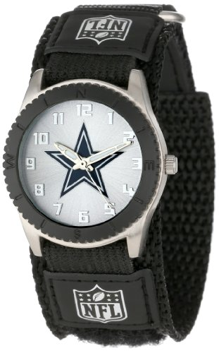 Game Time Mid-Size NFL-ROB-DAL Rookie Dallas Cowboys Rookie Black Series Watch at Amazon.com
