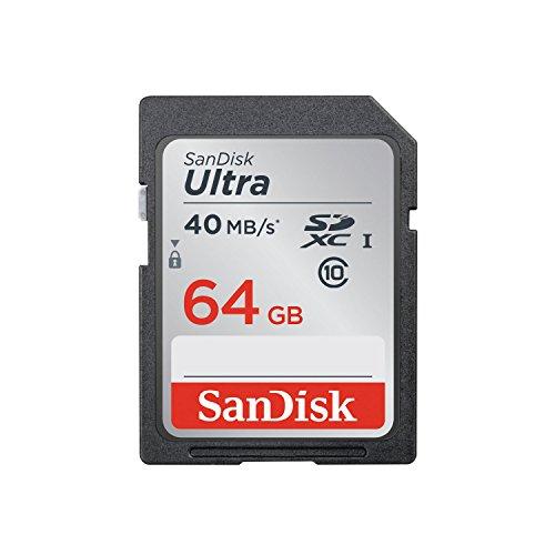 SanDisk Ultra SDXCカード UHS-I Class10 64GB 40MB/Sec. [国内正規品] SDSDUN-064G-EPK [エコパッケージ]