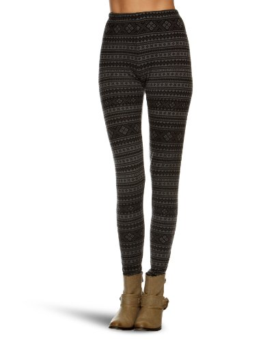 Yumi Fairisleprint Women's Leggings Grey Medium