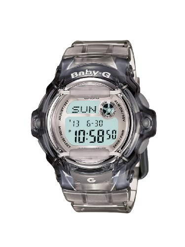 Casio Women's BG169R8 BabyG Gray Whale Digital Sport Watch